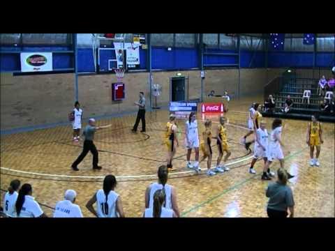2014 U20s Australian National Basketball Championships WA vs NZ