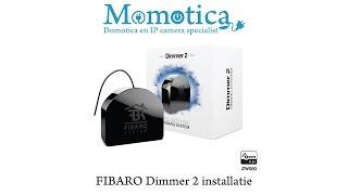 FIBARO Dimmer 2 installeren met blauwe neutraal draad