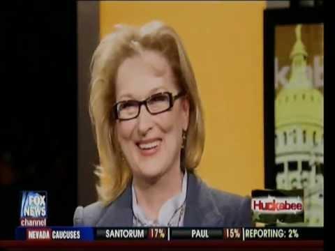 Meryl Streep on The Huckabee Show 2012 (full length)