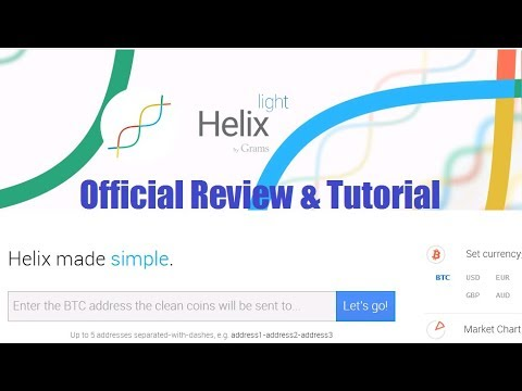 Helix Light Bitcoin Mixer Review & Step By Step Tutorial