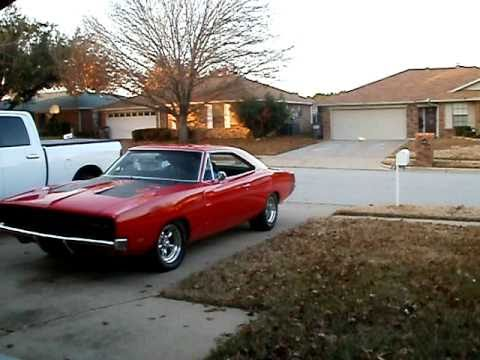 1969 dodge charger 440 r t cruising red with black stripe youtube. Black Bedroom Furniture Sets. Home Design Ideas