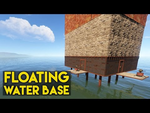 Rust Base Tours - Ep. 4 - Floating Water Base & illuminati Base