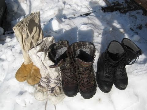 Cold Weather Footwear Evaluation