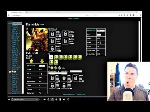 Dawn of Titans Database UPDATE | Flamehide + Grimvald + Share Titan Builds + Yuki
