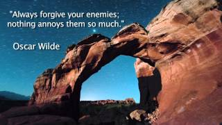 Oscar Wilde Quote Forgive Your Enemies