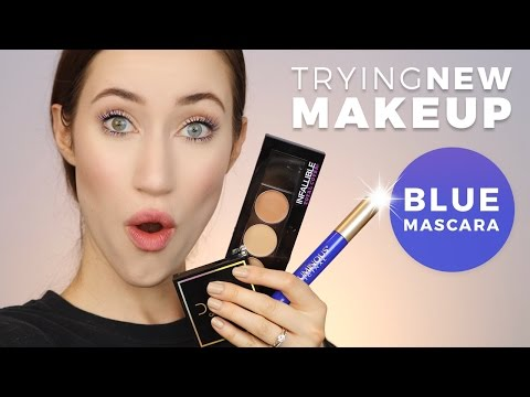 FULL FACE OF FIRST IMPRESSIONS | TRYING NEW MAKEUP! | ALLIE G BEAUTY