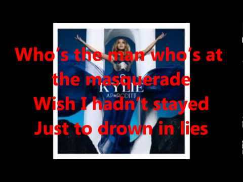 Kylie Minogue- Illusion LYRICS on screen