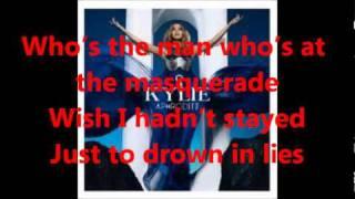 Kylie Minogue- Illusion LYRICS on screen