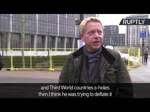 Londoners react to Rump snubbing the US embassy in London