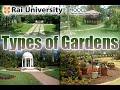 Types of Gardens - Basics of Gardening
