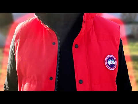 Canada Goose Garson Vest REVIEW Red Colorway