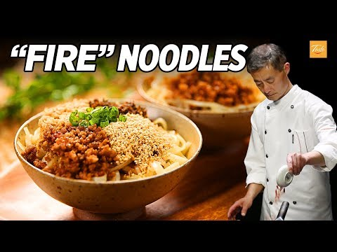 The Magic Of Fire Noodles L Best Unknown Street Food Of China
