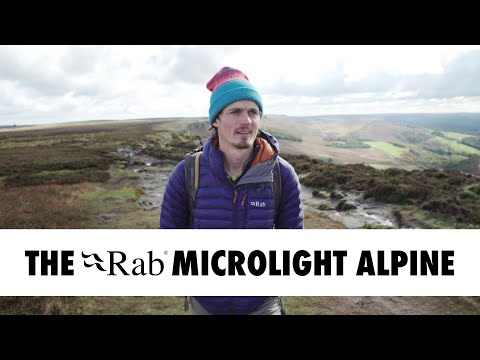 The Rab Microlight Alpine - Made for Climbers, Hillwalkers and Mountaineers