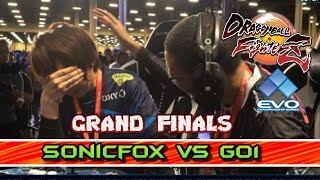 EL COMBATE MÁS BONITO DE LA HISTORIA!! SONICFOX vs GO1 (GRAND FINALS) DRAGON BALL FIGHTERZ EVO 2019