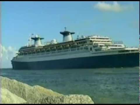Miami Beach, Florida - S/S Norway Departure (1996)