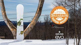 Dinosaurs Will Die Bogart Review: Women's Park Winner – Good Wood Snowboard Test 2018-2019