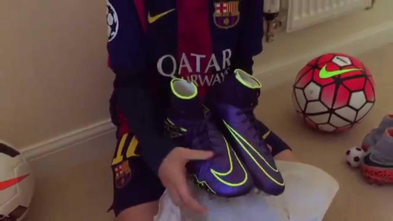 Nike Hypervenom Phantom 2 Electro Flare FG Kids Unboxing and Review -  YouTube