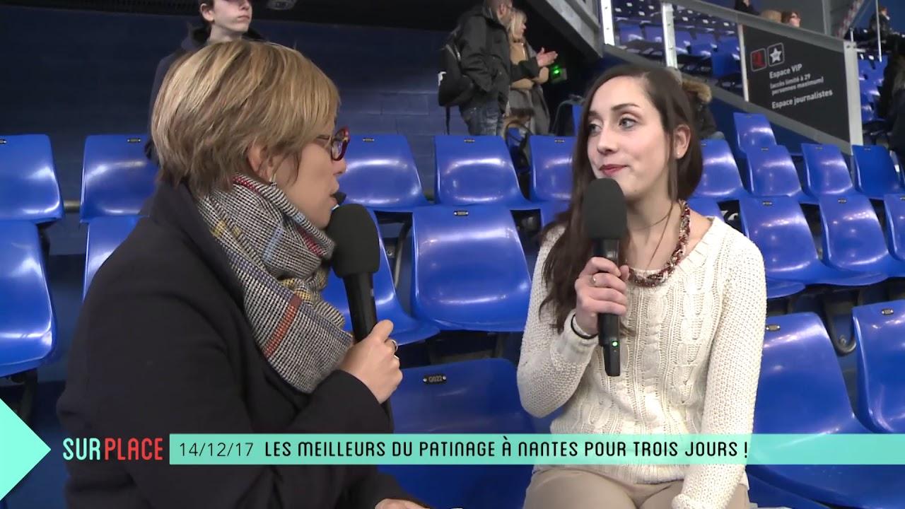 Sur place au championnat de france lite de patinage youtube - Patinoire petit port nantes ...