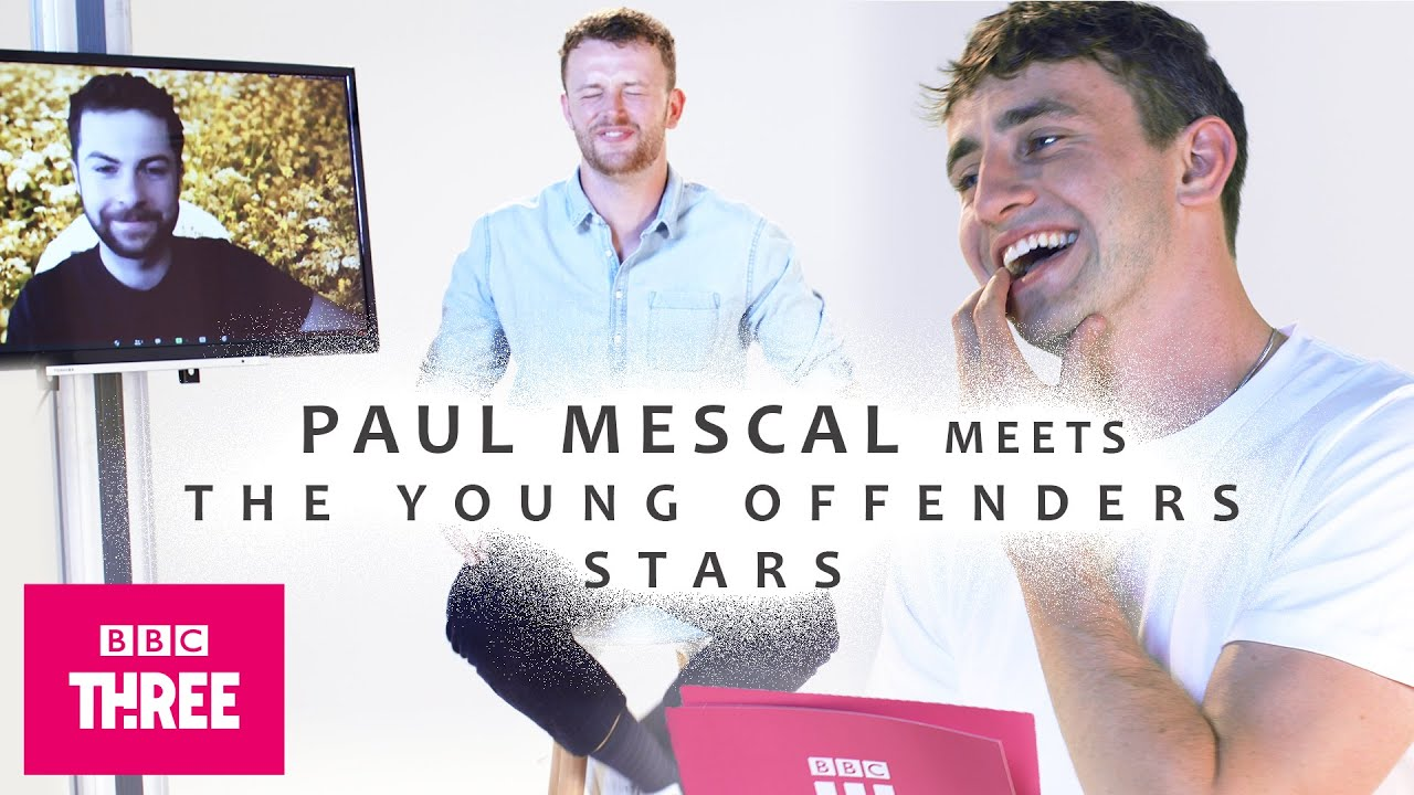Paul Mescal Tests The Young Offenders Stars On Their Friendship | BBC Three Exclusive