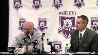 Weber State Football Coach Ron McBride Announces His Retirement