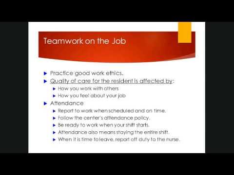Chapter 3 - Work Ethics