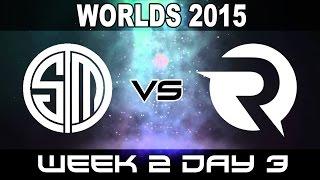 TSM vs OG - 2015 World Championship Week 2 Day 3 - Team Solo Mid vs Origen