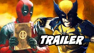 Deadpool vs Wolverine Parody Trailer - New Avengers Wolverine Breakdown