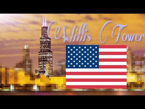 Skyscraper Video #70: Willis Tower ( The Tallest Building In The World From 1973 To 1998 )