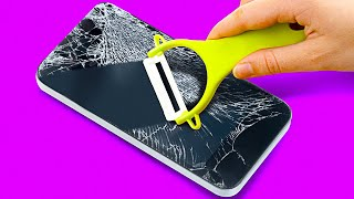 30 GENIUS PHONE LIFE HACKS || 5-Minute Recipes For Your Gadget