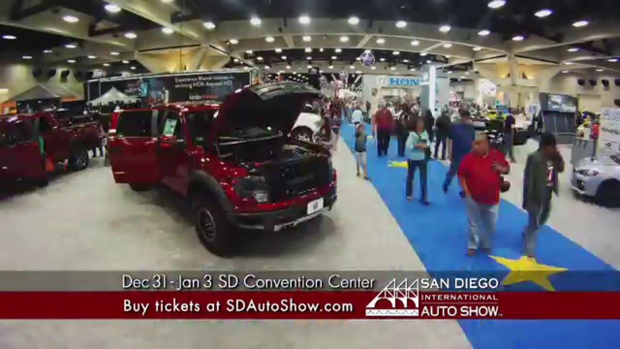 San Diego Auto Show TV Commercial YouTube - San diego convention center car show