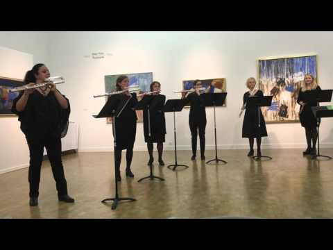 Flautukórinn / The Icelandic Flute Ensemble: Concert on November 1st 2015