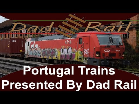 Trains in Portugal