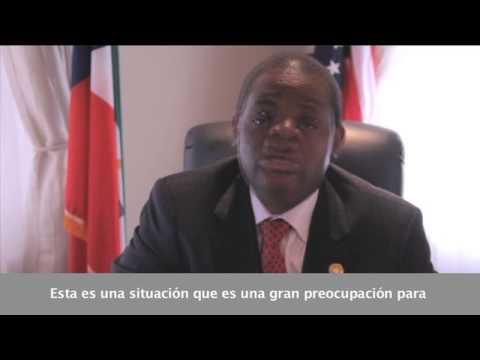 Equatorial Guinea's Ambassador to the United States discusses global peace and security