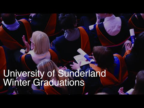 University of Sunderland Winter Graduation - 26/11/2015 3pm