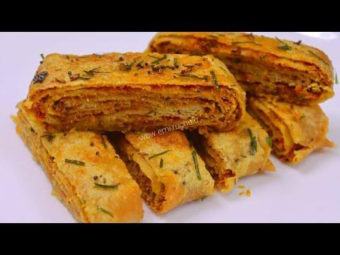 Unique Breakfast recipe |Less Oil Breakfast  | Breakfast recipe | New Breakfast recipe | Breakfast