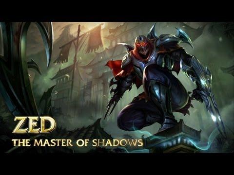 Zed: Champion Spotlight | Gameplay - League of Legends
