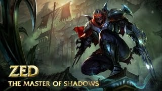 Zed: Champion Spotlight | Gameplay - League of Legends