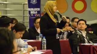Pra Persidangan Parlimen Belia Wanita Sebagai Pemimpin