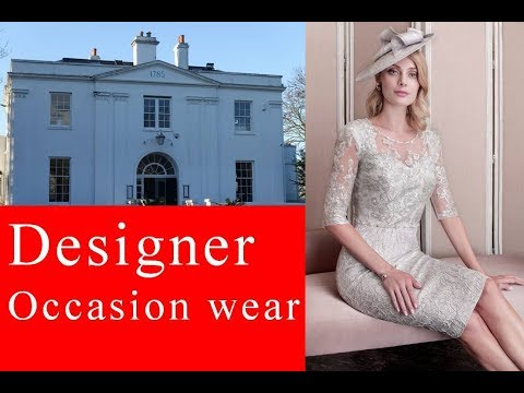 Designer occasion wear at Belair house (Mother of the Bride)