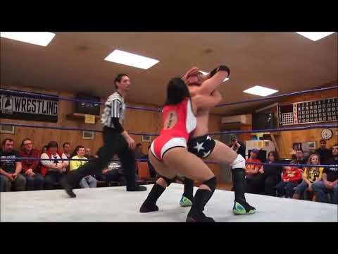 Wrist Clutch Dragon Suplex - Sonya Strong vs. Anthony Gangone - Limitless Wrestling (Intergender)