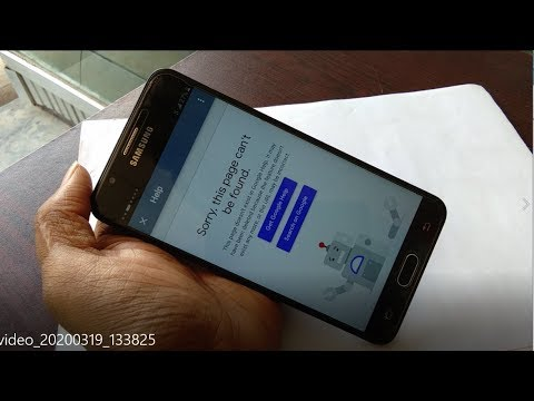 ALL SAMSUNG FRP 6.0 Sorry,This Page Can't Be Found Talkbalck Option 100000000000% Tested