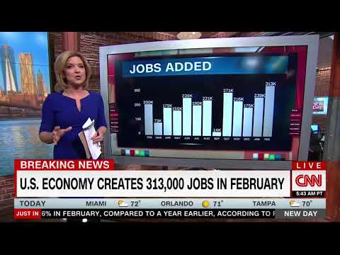 """CNN's Christine Romans On Jobs Report: """"Best Job Creation In Some Time"""""""