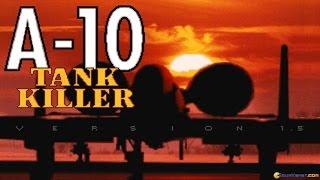 A-10 Tank Killer v1.5 gameplay (PC Game, 1991)