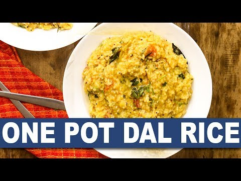 One Pot Dal Rice || One Pot Dal Rice  Recipe || How To Prepare One Pot Dal Rice || Wirally Food