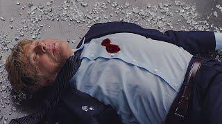 Ник Фьюри убивает Александра Пирса. Первый мститель: Другая война. 2014