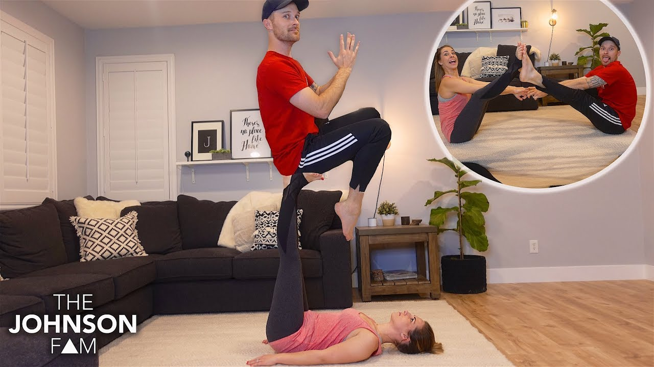 Couples Yoga Poses Challenge