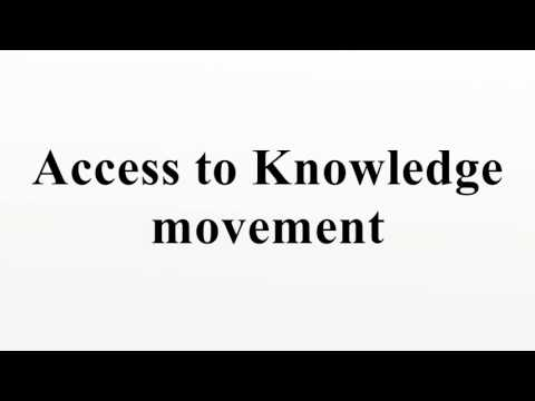 Access to Knowledge movement