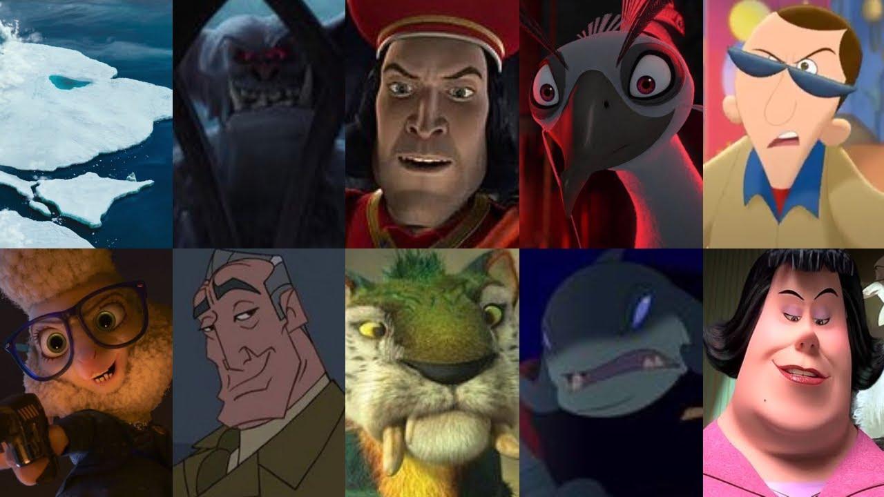 Defeats Of My Favorite Animated Movie Villains Part 9 By Gennarolino64