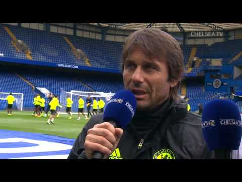 WATCH LIVE NOW: Antonio Conte talks to the fans at open training