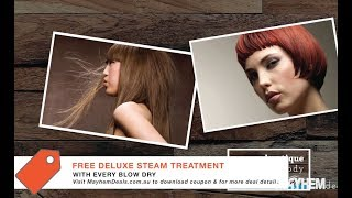Coogee Boutique - FREE Deluxe Steam Treatment w/ a blow dry purchase